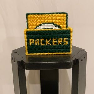 Green Bay Packers 5 piece coaster set